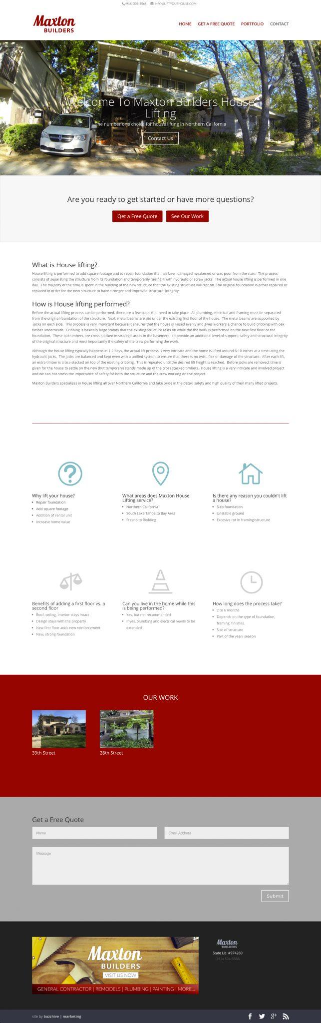 LiftYourHouse.com_ Web Design & Development