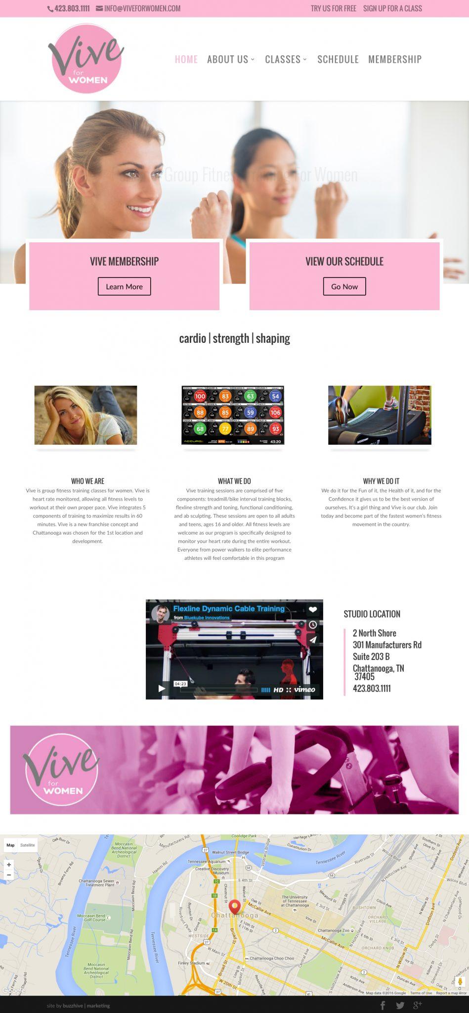 ViveForWomen.com_ Web Design & Development
