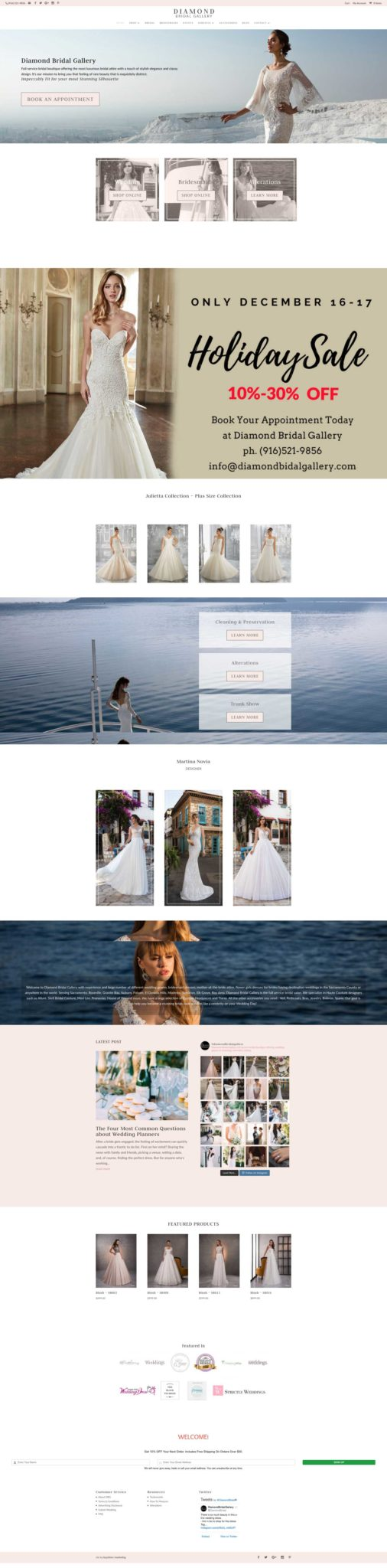 diamondbridalgallery.com_ Standalone Pricing