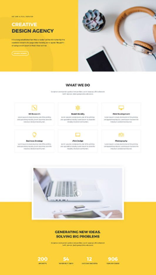 template-f Web Design & Development