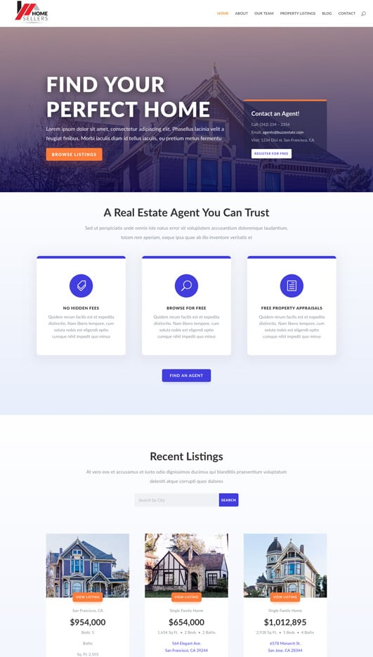 real-estate Web Design & Development